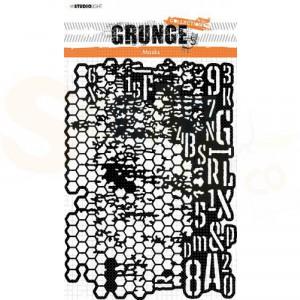 StudioLight, mask stencil Grunge collection nr.16 SL-GR-MASK16