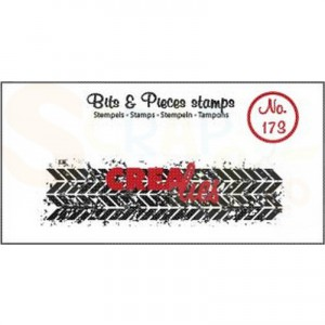 CLBP173 clearstamp bits&pieces no.173 Grunge zigzag