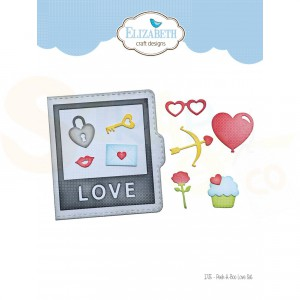 Elizabeth Craft Designs, dies 1735, Peek-a-Boo Love set