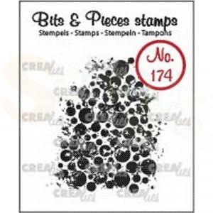 CLBP174 clearstamp bits&pieces no.174 Grunge cirkels