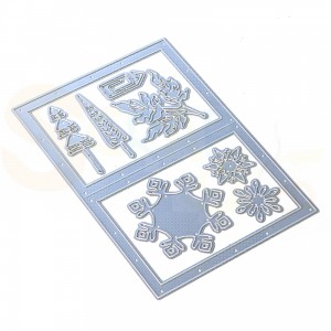 Elizabeth Craft Designs, Mystical Winter dies 1825, Snowy windows