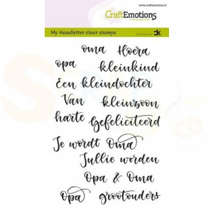 130501/1832, CraftEmotions clearstamp, Opa & Oma (NL)