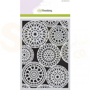 CraftEmotions Mask stencil, fantasy circle pattern185070/1119