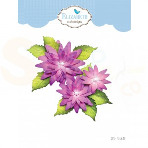Elizabeth Craft Designs, dies 1871, Florals 10