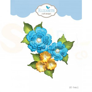 Elizabeth Craft Designs, dies 1872, Florals 11