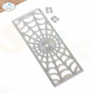 Elizabeth Craft Designs, Happy Harvest die set 1910 Spiderweb Slimline