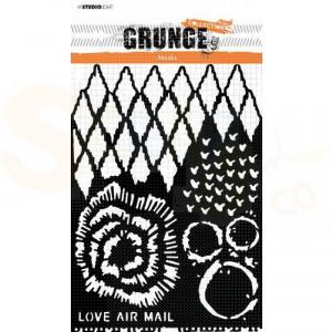 StudioLight, mask stencil Grunge collection nr.19 SL-GR-MASK19