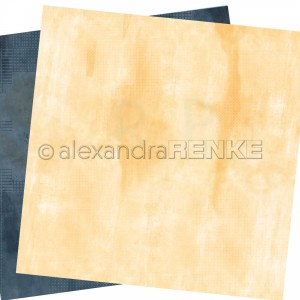 Alexandra Renke, designpapier 20.012 Calm pastel yellow and dark