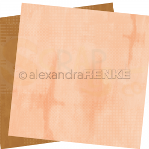 Alexandra Renke, designpapier 20.016 Calm Rusty Amber with Dusty