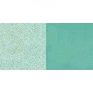 Dini Design Scrappapier, stippen bloemen mint groen #2004