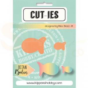 Cut-ies Ocean babies, fish 20072