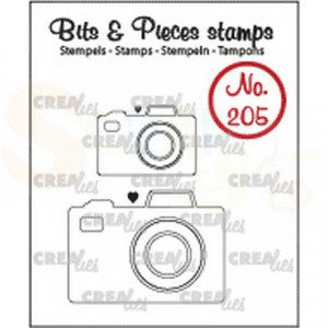 CLBP205 clearstamp bits&pieces no. 205 2x Camera