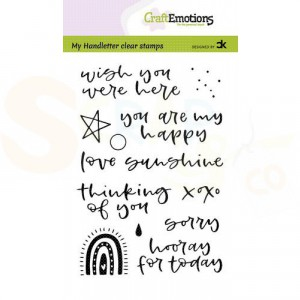 130501/2210, CraftEmotions clearstamp, Rainbow 2