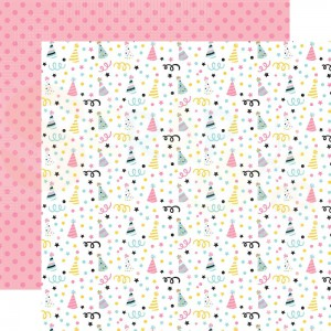 Echo Park Paper, Magical Birthday Girl MBG23211, Party Hats