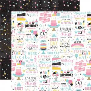 Echo Park Paper, Magical Birthday Girl MBG2314, Birthday Magic