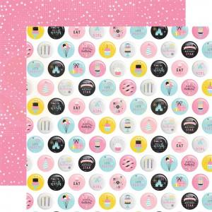 Echo Park Paper, Magical Birthday Girl MBG2316, Eat Cake