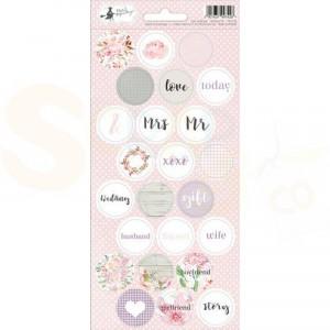 Piatek13, Sticker sheet P13-256, Love in Bloom 03