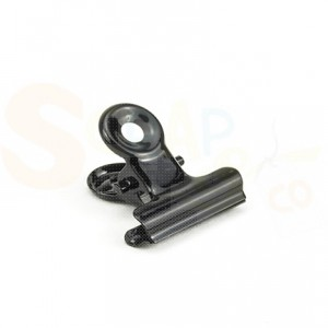 4011.0001 Bulldog Clip 19mm zwart