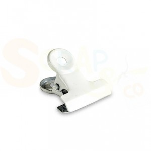 4011.0002 Bulldog Clip 19mm wit