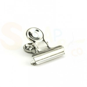 4011.0008 Bulldog Clip 19mm zilver