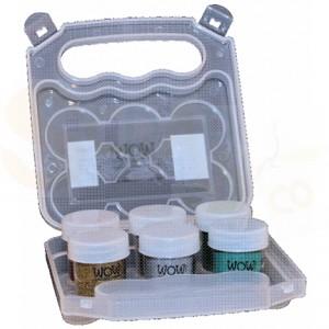 WOW embossing kit case empty 6x15 ml, ZAC6