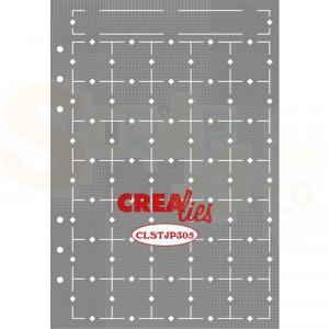 CreaLies, Stencil Journaling Maand Pagina A CLSTJP305