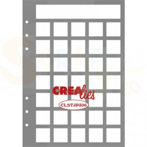 CreaLies, Stencil Journaling Maand Pagina B CLSTJP306