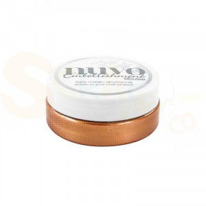 Nuvo embellishment mousse, fresh copper 809N