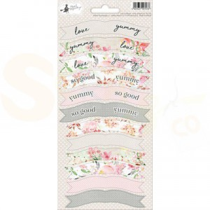 Piatek13, Sticker sheet Party P13-311 Love in Bloom 01