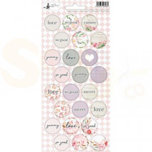 Piatek13, Sticker sheet Party P13-312, Love in Bloom 02