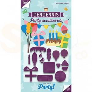 6002/3118, stans Dendennis Party - Feest accessoires