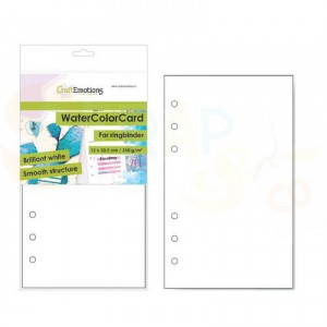 CraftEmotions, karton Ringband 12 x 20,5 cm, watercolor 001286/3485