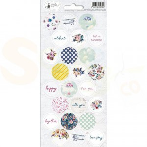 Piatek13, Sticker sheet P13-385 When we first met 03