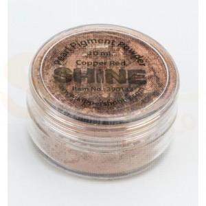 Shine pigment powder, copper red 390133
