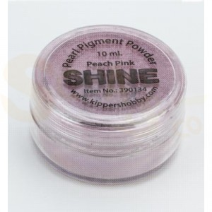Shine pigment powder, peach pink 390134