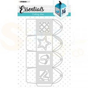 StudioLight, cutting die Giftbox Essentials nr. 393 STENCILSL393