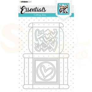 StudioLight, cutting die Giftbox Essentials nr. 394 STENCILSL394
