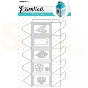 StudioLight, cutting die Giftbox Essentials nr. 395 STENCILSL395