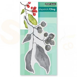 Penny Black, slapstick/cling stamp 40-626 Christmas Berries