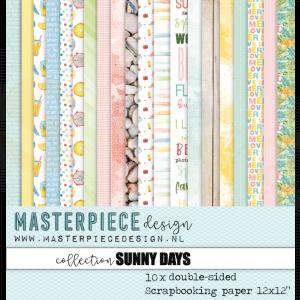 Masterpiece Design, paperpad 4002, Sunny Days