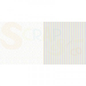 Dini Design Scrappapier, confetti strepen #4004