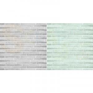 Dini Design Scrappapier, hout grijs en mint #4006