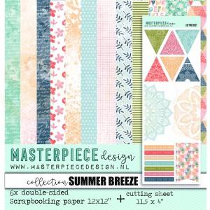 Masterpiece Design, papierpakket 4010, Summer Breeze