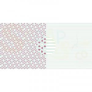Dini Design Scrappapier, watermeloenen strepen #4020