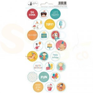 Piatek13, Sticker sheet P13-419 Happy Birthday 03