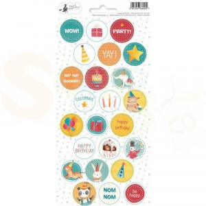Piatek13, Sticker sheet Party P13-421 Happy Birthday 02