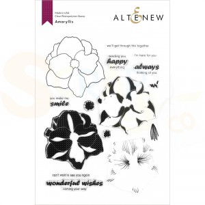 Altenew, clearstamp Amaryllis ALT4360