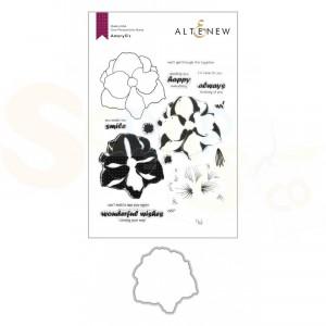 Altenew, stamp & die Amaryllis ALT4362BN1