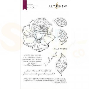 Altenew, clearstamp Darling Rose ALT4374