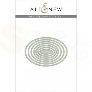 Altenew, die set, Nesting Ovals